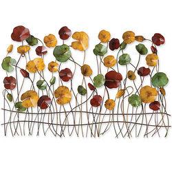 Poppies Iron Wall Art Sculpture