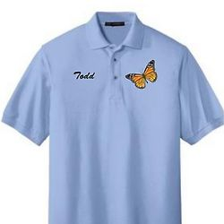 Environmental Monarch Adult Polo Shirt