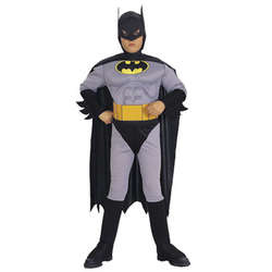 Deluxe Child Batman Muscle Chest Costume