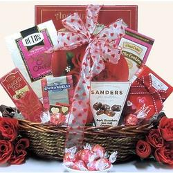 My Sweet Valentine Valentine's Day Chocolate & Sweets Gift Basket