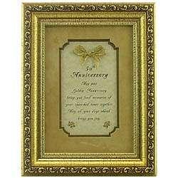 50th Anniversary Golden Toast Poem