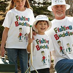 Fishing Buddies Youth T-shirt