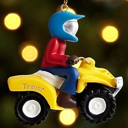 Motor Bike Ornament