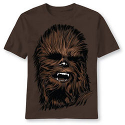 Chewbacca Face T-Shirt