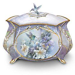 Lena Liu Precious Treasure Hummingbird Music Box