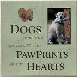 Dog Sympathy Memorial Frame
