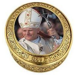 John Paul II Commemorative Rosary Box