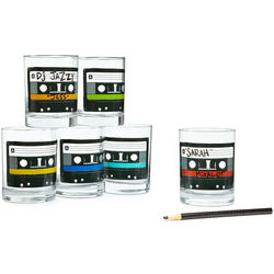Mixtape Writable Glasses