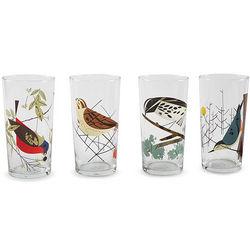Oldham Harper Bird Images Glassware