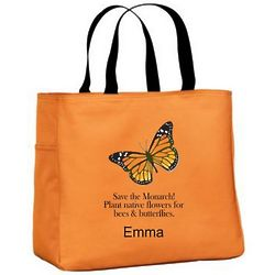 Environmental Monarch Butterfly Essential Tote