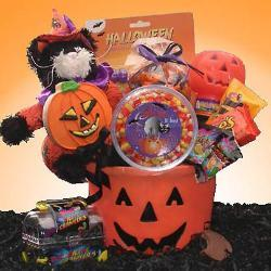 Jack O Treats Halloween Gift Basket