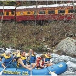 Nantahala Raft N' Rail Experience for Two