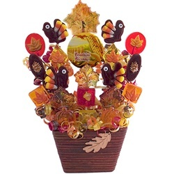 Fall Festive Lollipop Bouquet