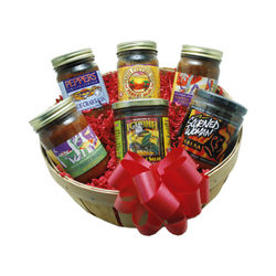 Salsa Lover's Gift Basket