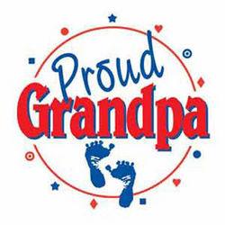 Proud Grandpa Button