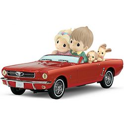 Precious Moments Ford Mustang Just Me and You Figurine