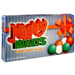 Mighty Malts Holiday Malted Milk Balls