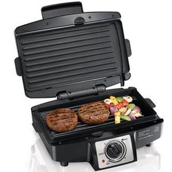 Hamilton Beach 25332 Easy Clean Indoor Grill with Removable Grid