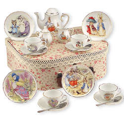 Beatrix Potter Girl's Tea Set