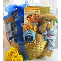 Beary Well Wishes Gift Basket