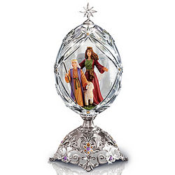 The Little Shepherd Faberge-Inspired Crystal Musical Egg
