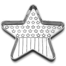 Americana Star Flag Tray