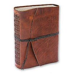 Rustic Leather Book of Shadows