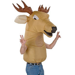 Big Animal Head Deer Costume for Adult