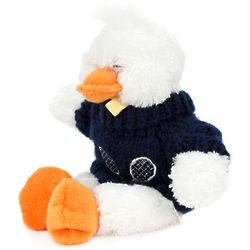 Duck Stuffed Animal Wearing a Tennis Sweater