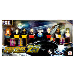 Star Trek Pez Dispensers Collector's Series