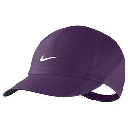 Women's Featherlight Purple Tennis Cap