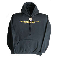 Army Hooded Sweatshirt