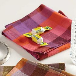 Seriously Soft Retro Plum Handkerchiefs