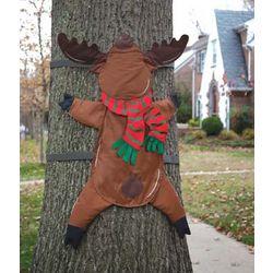 Reindeer Crash Tree Wrap
