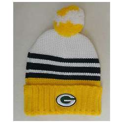 Girl's Packers Pom Knit Hat