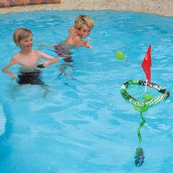 Skip-N-Sink Disk Toss Swimming Pool Game