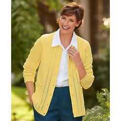 Women's Acrylic Classic Cardigan Sweater