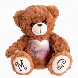 Custom Photo and Voice Long-Distance Relationship Teddy Bear