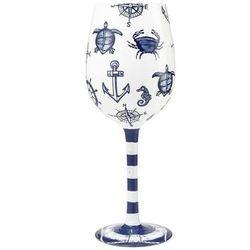 Set Sail Wine Glass