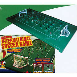 Electronic Tabletop Soccer Game