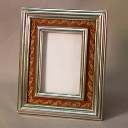 Charming Pewter & Cotton Frame