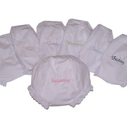 Days of the Week Diaper Covers