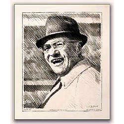 Vince Lombardi Portrait