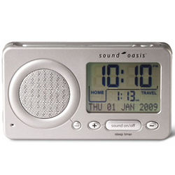 Sound Oasis Travel Alarm Clock