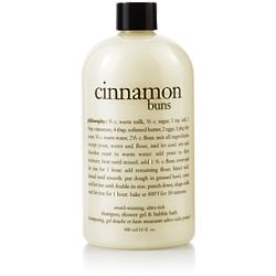 Cinnamon Buns Shampoo, Shower Gel and Bubble Bath