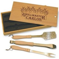 Personalized Grill Master Set