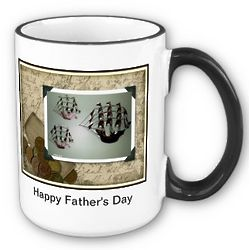 Happy Father's Day Ship Mug