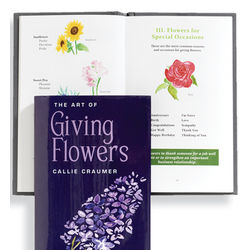 The Art of Giving Flowers Book