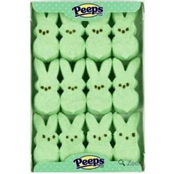 Marshmallow Peeps Green Easter Bunnies