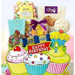 Let's Celebrate Birthday Treat Gift Basket
